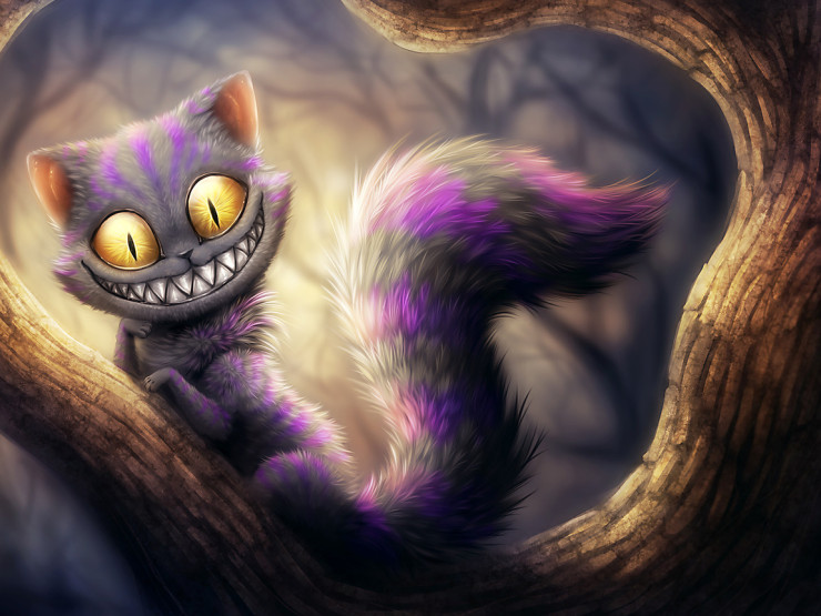 Чеширский кот art