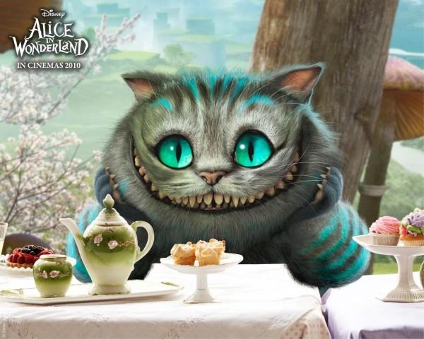 Чеширский кот из Алисы в стране чудес