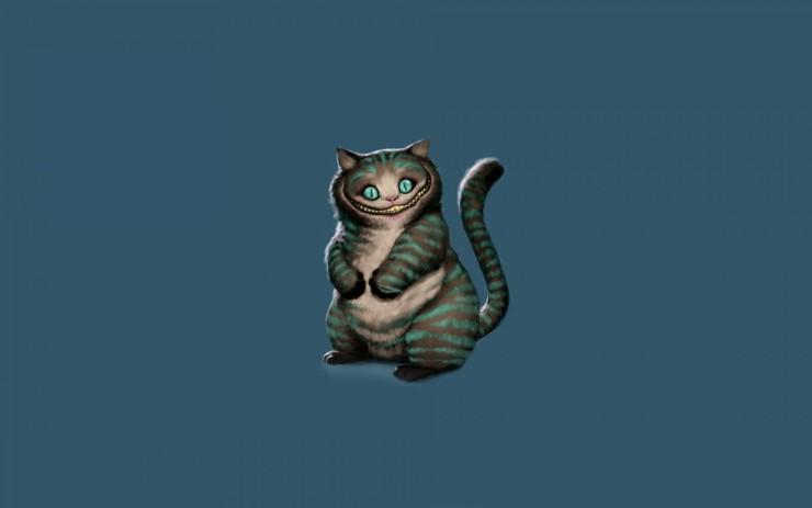 Кот из Алисы в стране чудес фото