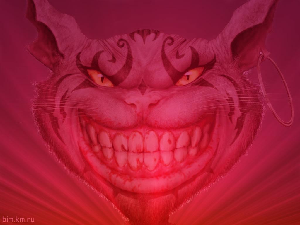 Чеширский кот из игры Алисы
