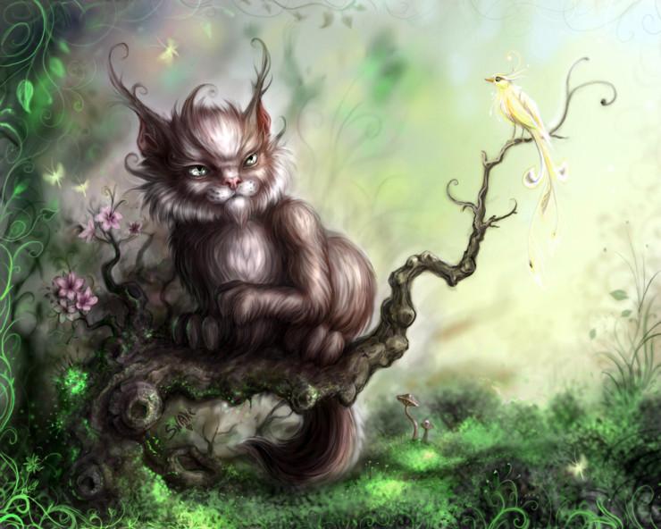 Рисунки Алиса в стране чудес чеширский кот