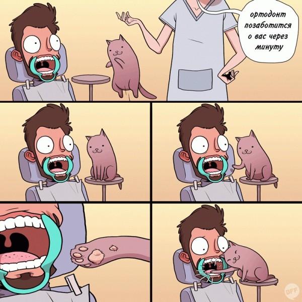 Когда издеваешься над котом