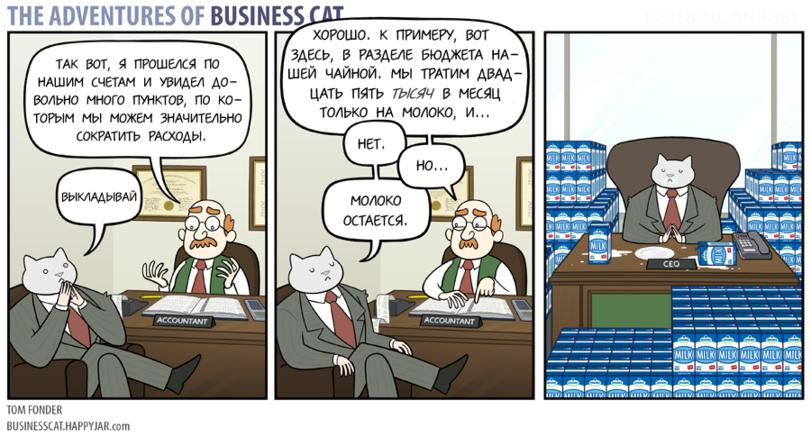 Бизнес-кот. «Про Бюджет»