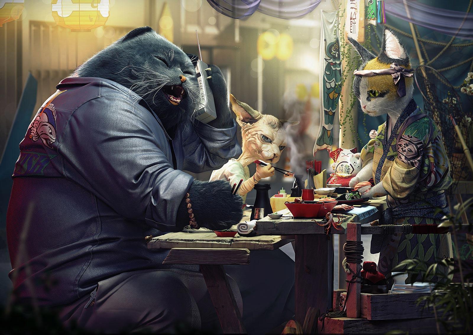 Кошки Якудзе
