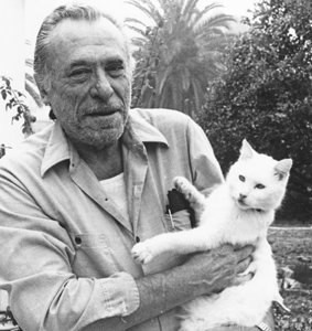 Буковский Чарльз и его кот