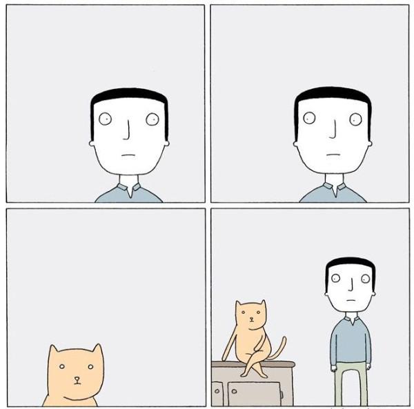 Комикс с котом