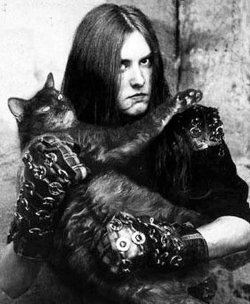 Варг Викернес с котом