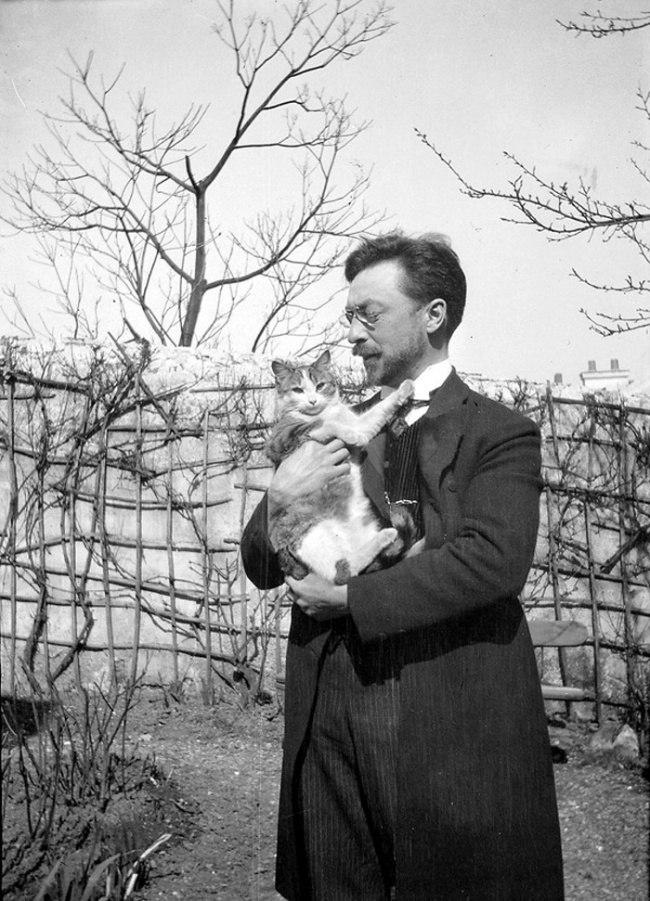 Василий Кандинский и его кот Васька