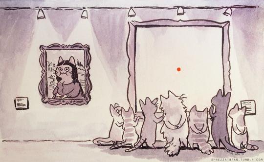 Кошачье искусство
