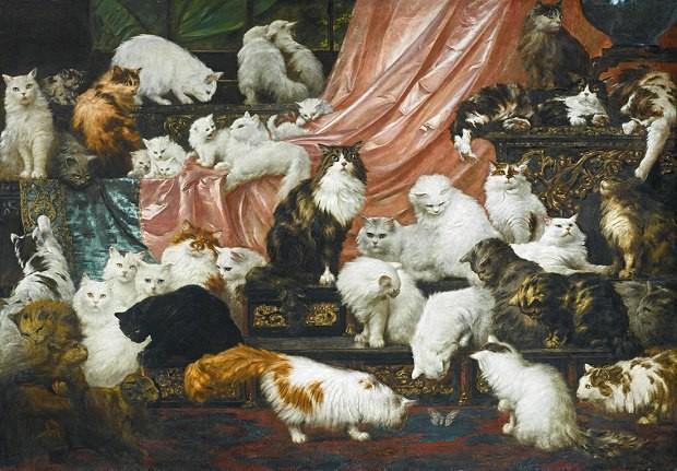 Картина Карл Коллер «Любовники моей жены»