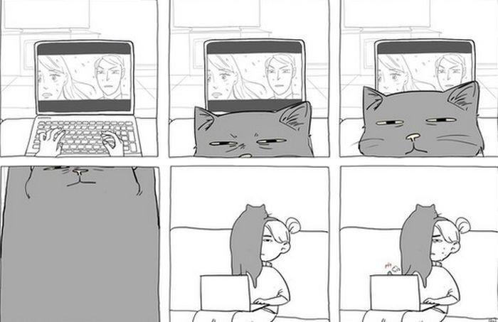 Котокомикс — которевность